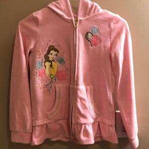 Belle velour jacket for kids